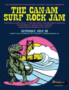 the CAN-AM SURF ROCK JAM @ tba